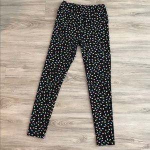 Like new LulaRoe popsicle leggings